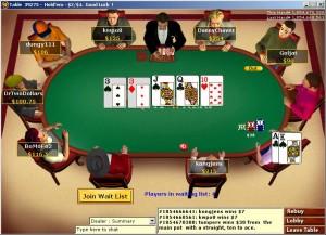 Poker Online tavoli