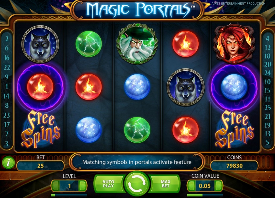 slot di starcasino magic portals