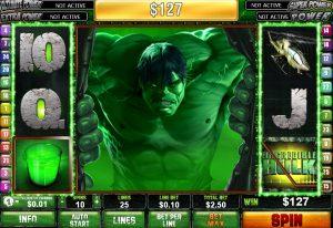 The Incredible Hulk slot machine gratis