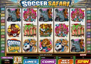 Soccer Safari slot machine