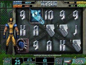 Wolverine slot machine online: regole