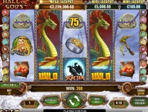 Hall of Gods slot online: come giocare